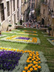 Жирона фестиваль цветов
