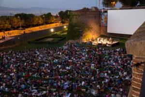 Кино на горе Монтжуик