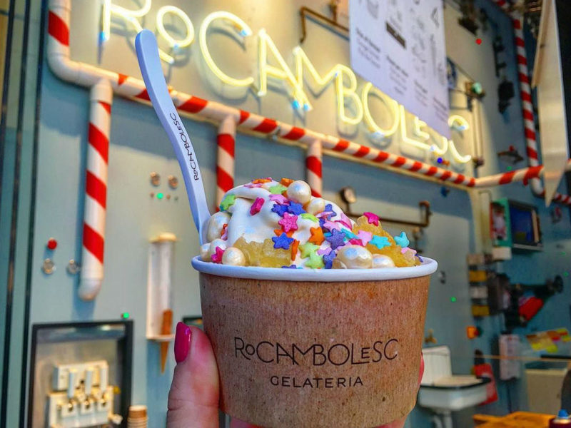 Мороженое Rocambolesc