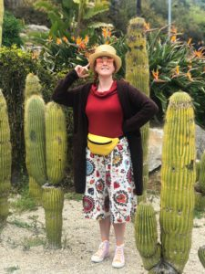 Сад кактусов Монтжуик