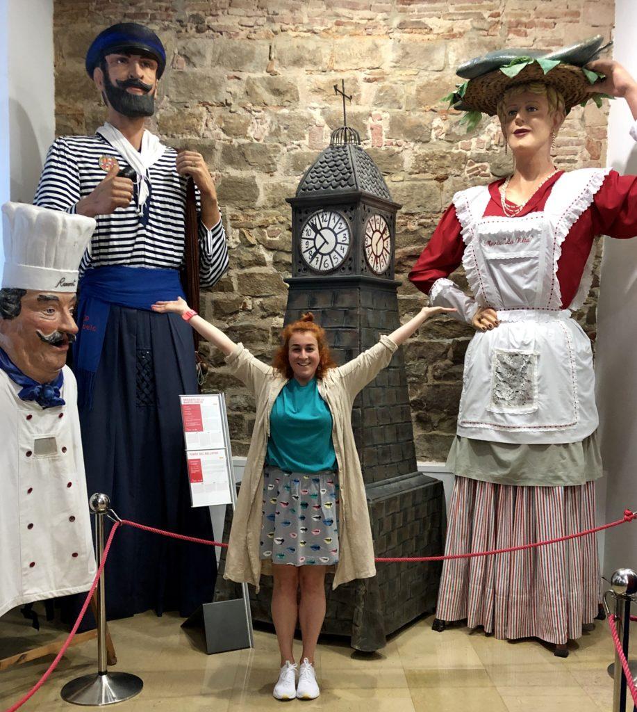 Куклы гиганты Барселоны